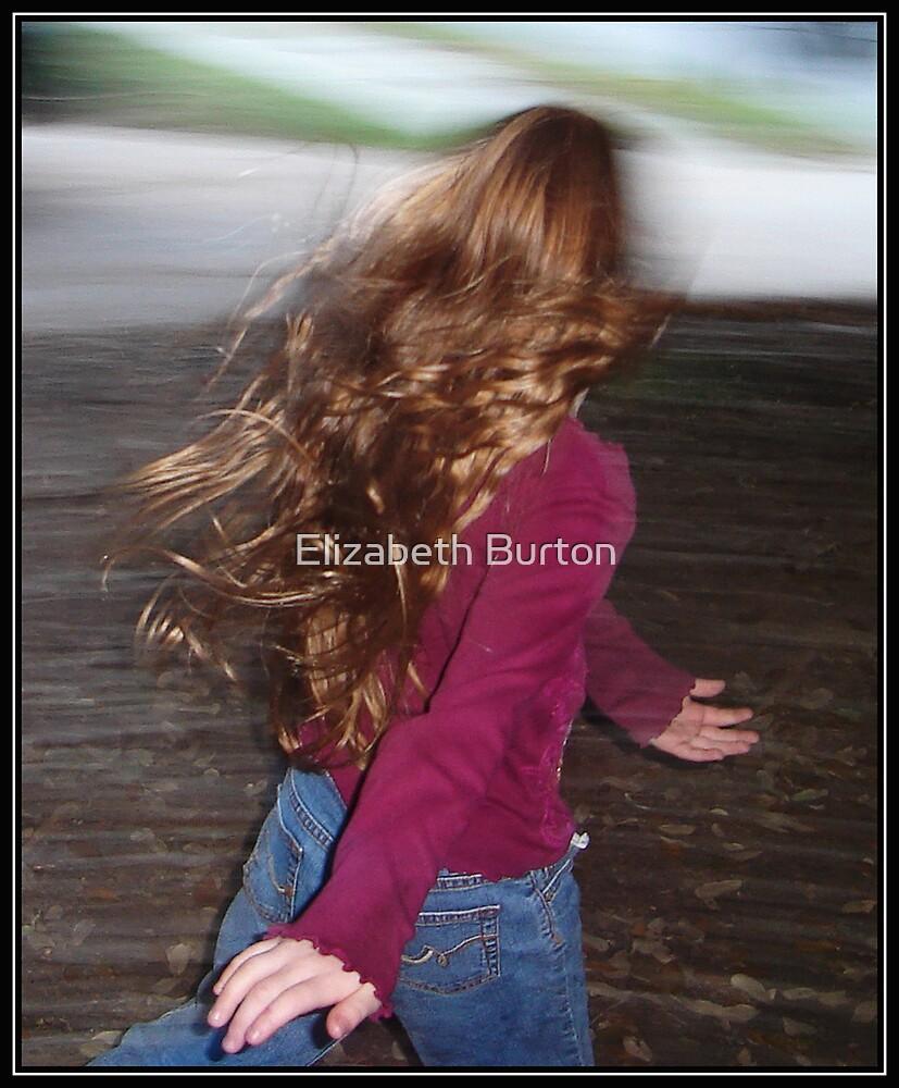 Fall Wind In Motion by Elizabeth Burton