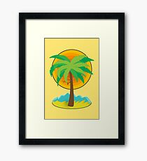 Palm Trees! Framed Print