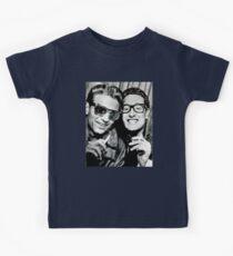 buddy holly and waylon jennings Kids Clothes