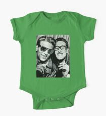 buddy holly and waylon jennings Kids Clothes
