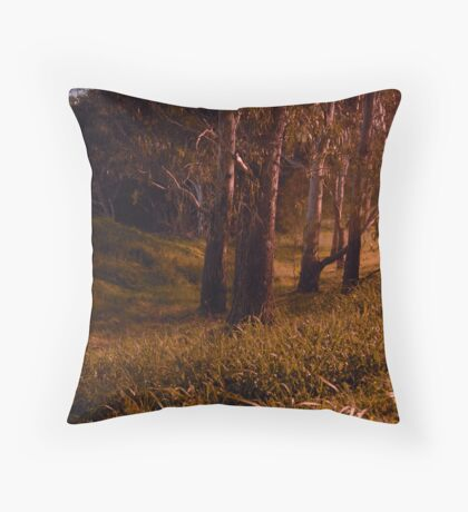 Things That Come Out at Night Throw Pillow