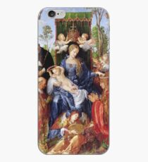 Albrecht Durer - The Festival Of The Rosary iPhone Case
