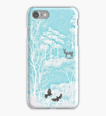 Enchanted Winter Woods iPhone Case/Skin