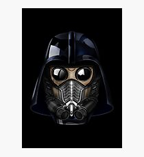 Gas Mask Japanese Shogun Style Photographic Print