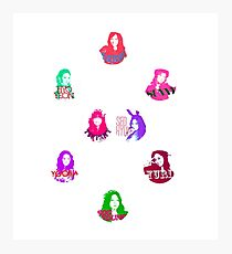 SNSD Love and Peace Photographic Print