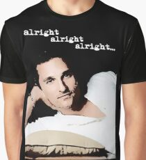Alright Alright Alright - color Graphic T-Shirt