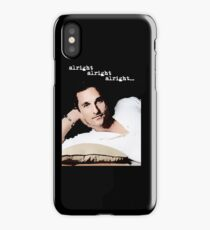 Alright Alright Alright - color iPhone Case/Skin