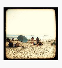 Beach Couple Photographic Print