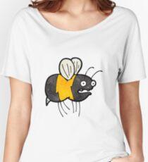 cartoon fat bumble bee Women's Relaxed Fit T-Shirt
