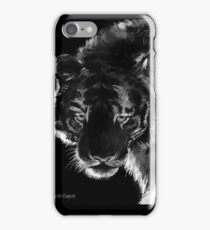 Tigre B&N, featured in Back in Black  iPhone Case/Skin