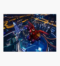 Big Giant Flying red robot Photographic Print