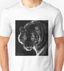 Tigre B&N, featured in Back in Black  Unisex T-Shirt