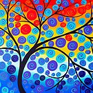 Red Tree of Life by cathyjacobs