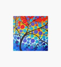 Red Tree of Life Art Board