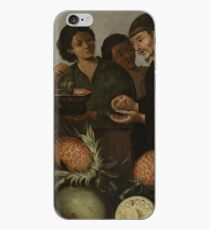 Albert Eckhout - East Indian Market Stall In Batavia iPhone Case