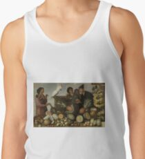 Albert Eckhout - East Indian Market Stall In Batavia Tank Top