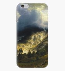 Albert Bierstadt - A Storm In The Rocky Mountains Mt Rosalie iPhone Case