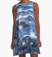 water & ice  A-Line Dress