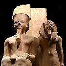 Statue of Amon by annalisa bianchetti