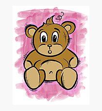 Teddy Bear Photographic Print