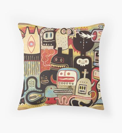 Convertisseur  Throw Pillow