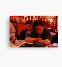 Jughead and Archie Canvas Print