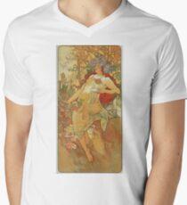 Alphonse Mucha - Autumn 1896 T-Shirt