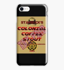 Starbuck's Colonial Coffee Stout iPhone Case/Skin