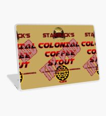 Starbuck's Colonial Coffee Stout Laptop Skin