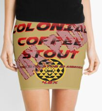 Starbuck's Colonial Coffee Stout Mini Skirt