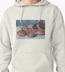 Alfred Sisley - Still Life With Onions Pullover Hoodie