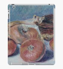 Alfred Sisley - Still Life With Onions iPad Case/Skin