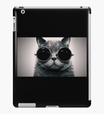 The Cat with the goggles. iPad Case/Skin