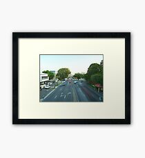 Traffic. Framed Print