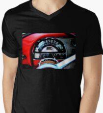 Pontiac 1954 Dash Men's V-Neck T-Shirt