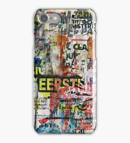 Collage III iPhone Case/Skin