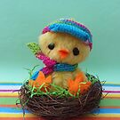 Chick-a-doodle-doo Chicken Easter chick by Penny Bonser