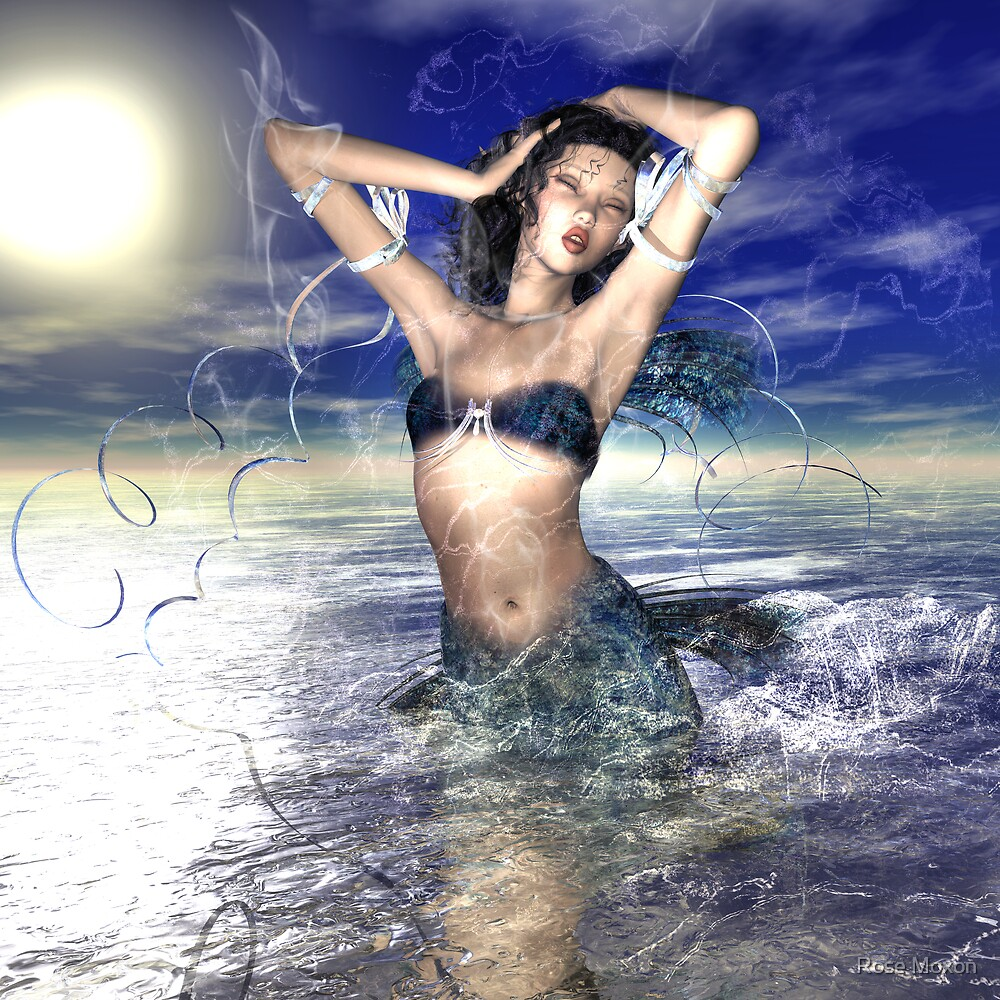 Mermaid by Rose Moxon