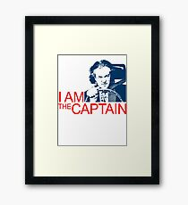 I Am the Captain Framed Print