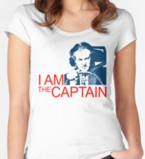 I Am the Captain Women's Fitted Scoop T-Shirt