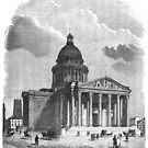 The Panthéon in the Latin Quarter, in Paris by Boxzero