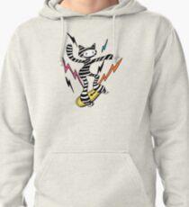 Stripe n Skate (colour) Pullover Hoodie