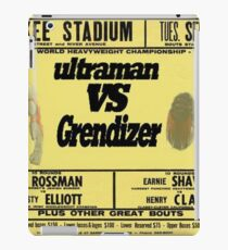ultraman vs grezinger iPad Case/Skin