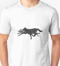 Pixelated wolves Unisex T-Shirt