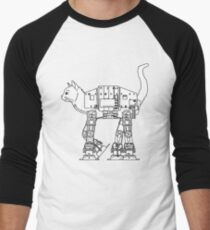 Star Wars - Cat-Cat Imperal Walker Men's Baseball ¾ T-Shirt