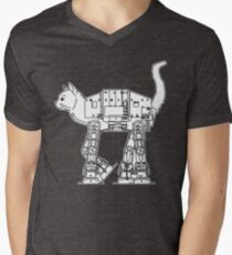 Star Wars - Cat-Cat Imperal Walker Men's V-Neck T-Shirt