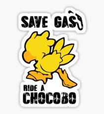 Chocobo!  Sticker
