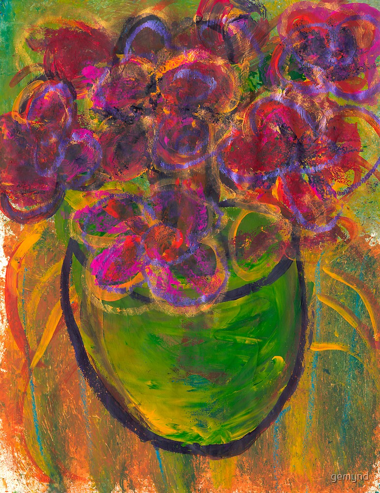 Green Vase by gemynd