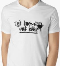let them eat cake Men's V-Neck T-Shirt