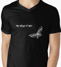 the refuge of ART Men's V-Neck T-Shirt